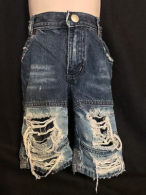 Old Navy baby boy's custom made Distressed denim Jeans 3-6 Months
