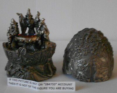 Myth And Magic - Wizards Cauldron Egg Figure By Tudor Mint Rare