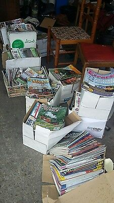 1500 + Various Railway magazines. All Different copies / collectors collection.