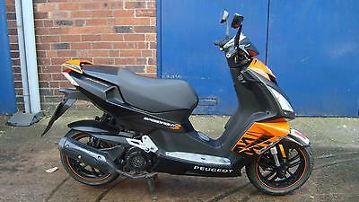 PEUGEOT SPEEDFIGHT 3, 125cc, 2014, 14 REG, ***DARKSIDE LTD EDITION***