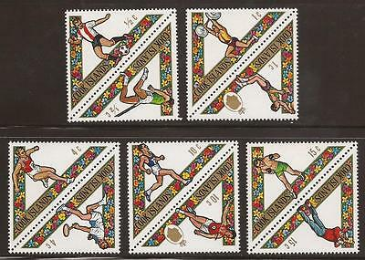 COOK ISLANDS - 1969 - SG295/304 - South Pacific Games - Complete Set _ UM/MNH