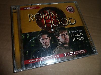 Robin Hood - Parent Hood (No. 4) - BBC Audio Book  (2 CD, 2006) New & Sealed