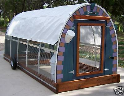 REDUCED PRICE Chicken Coop  Plans GET THEM ALL for Mobile Stagecoach