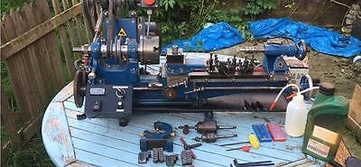 hobby engineer myford lathe ML4 with 2 to 3 phase converter