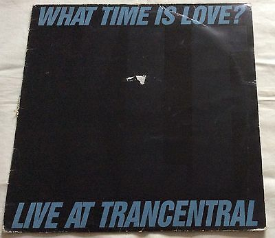 """THE KLF: What Time Is Love?: KLF 004X: 12"""" Single: 1990"""