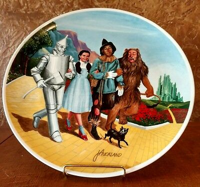 EDWIN KNOWLES The Wizard of Oz THE GRAND FINALE 8th Collector Plate 1979
