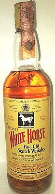 Fine Old  Scotch Whisky White Horse Cl 75 40°