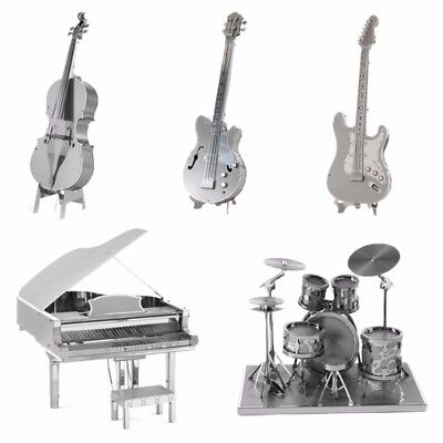 Musical Instruments Animal Metal Spielzeug 3D Puzzles Geduldspiele Jigsaw Models