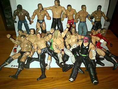 Figurines De Catch Wwe De 2005 Au Choix The Miz, Rey Mysterio, Mvp, Big Show....