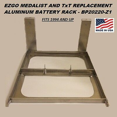 EZGO Golf Cart Aluminum Battery Tray 1994-UP 36 Volt TxT Made In The USA 20220