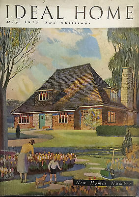Ideal Home Magazine May 1952 New Homes Edition , Adventurous Designs Of 1952