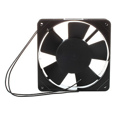 AC 220V-240V 120x120x25 mm Fan for PC Black M6L9