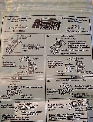 Military MRE Heaters - Pack of 12