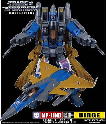 Transformers Asia Exclusive Masterpiece MP-11ND Dirge 100% genuine Not KO UK