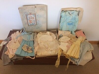 Vintage Baby Clothes Lot - Madonna Christening Gown, Nannette Dresses, & More!!