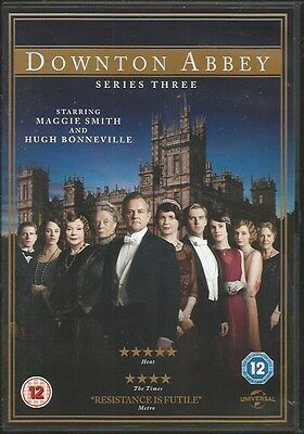 Downton Abbey - Series 3 - Complete (DVD, 2012) FREE SHIPPING