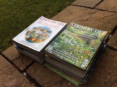 British Country Life  Magazines 52 Issues Big Job Lot £24.99