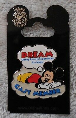 Disney Pin DLR 2011 Cast Member Dream Mickey Mouse New