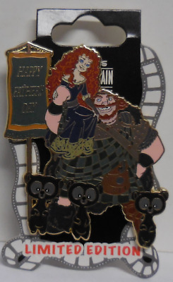 Disney Pin DSF Happy Father's Day 2013 Brave Surprise Pin LE300