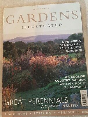 Gardens Illustrated September 2001 - Worldwide Postage Available