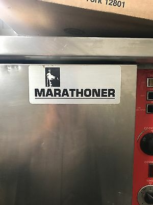 Southbend Gold Marathoner Gas Double Stack Full Size Convection Oven.
