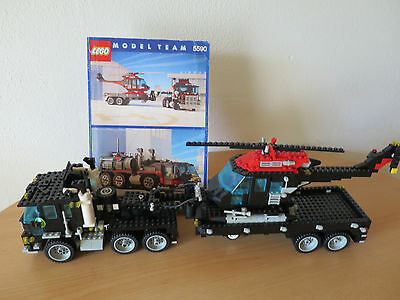 Tb Lego Technology Model Team Truck With Building Instruction Good Condition