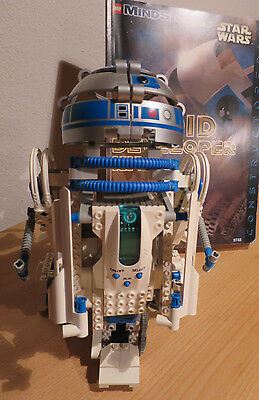 Tb Lego Technology 9748 R2D2 Mindstorms Star Wars With Ba Completely