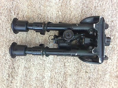 Harris Style Bipod 6-9 Inches with Swivel Base