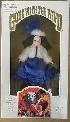 Bonnie Blue Gone With The Wind World Doll 1989,  NO BOX - 70882