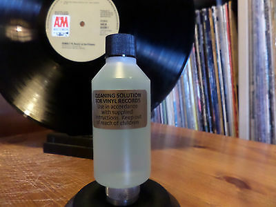 VINYL RECORD CLEANING LIQUID 100ml BOTTLE. 1000s OF DELIGHTED CUSTOMERS.