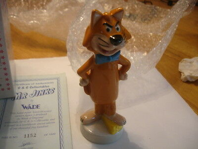 Wade  Limited Edition  Mr Jinks From David Trower Collection