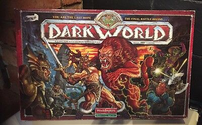 Waddingtons Dark World Adventure Fantasy Role Playing Board Game 1992