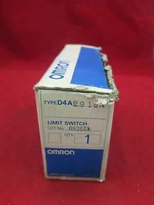 Omron Limit Switch D4A-2918N new