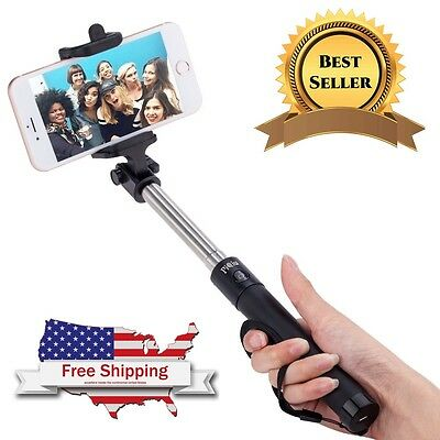 Handheld Selfie Stick Wired For iPhone 6 Plus 6s And Samsung Galaxy Phone Holder
