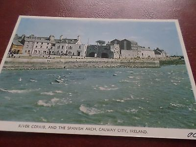 Postcard River Corrib And The Spanish Arch Galway City Ireland