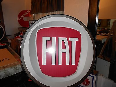 Fiat Lighted Sign