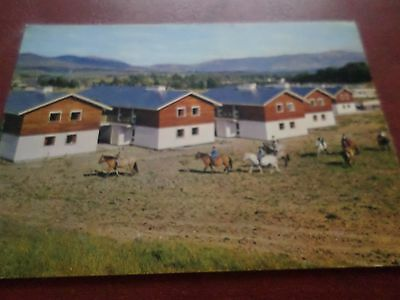 Postcard Chalets And Pony Trekkers The Aviemore Centre Inverness-Shire