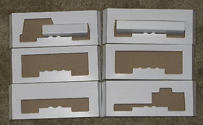 Lionel HO '57 0864/0866/0872, 0811, 0819 and 0862 inserts, Reproduction