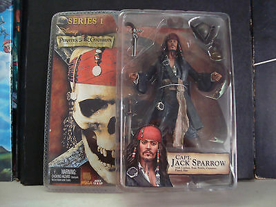 Jack Sparrow Pirates of The Caribbean - Series1 - Neca - Sealed