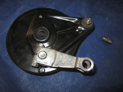 1979 Honda XR80 Rear Brake Shoe Plate Panel Housing XL XR 75 80  CR80 CT110