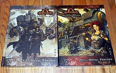 New IRON KINGDOM Full Metal Fantasy RPG CHARACTER & WORLD GUIDE & FIVE FINGERS
