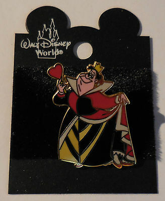Disney Pin WDW Queen of Hearts from Alice in Wonderland Pin New
