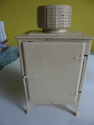 Antique Mini Sales Person Chilled-Air Ice Box