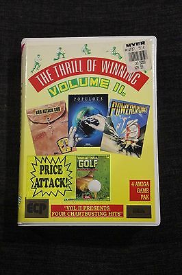 Thrill of Winning Volume 2 Amiga 688 Attack Sub Populous Powerdrome Tour Golf