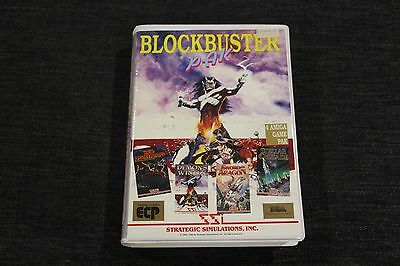 Amiga Blockbuster Pak | Demon's Winter | Sword of Aragon | Stellar Crusade Rare!