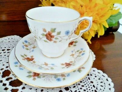 Colclough Cup, Saucer and plate set AUTUMN SPRAY