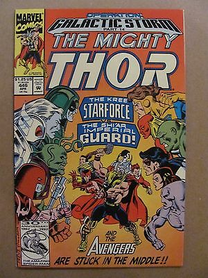 Thor #446 Marvel 1966 Series Operation Galactic Storm Part 14