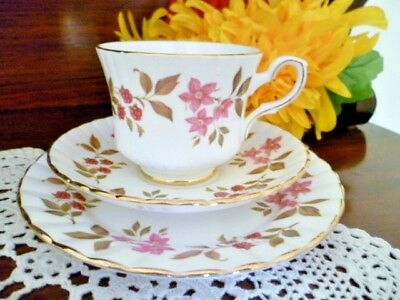 ROYAL STAFFORD Cup, Saucer and plate set FRAGRANCE