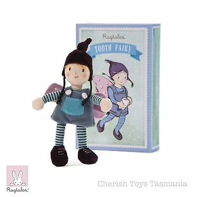 Tooth Fairy Boy Doll Kids Toy By Ragtales UK Waldorf Inspired Soft Travel Plush
