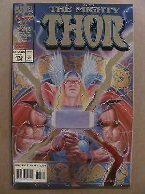 Thor #475 Marvel Comics 1966 Series Collectors Edition Embossed Foil Cover